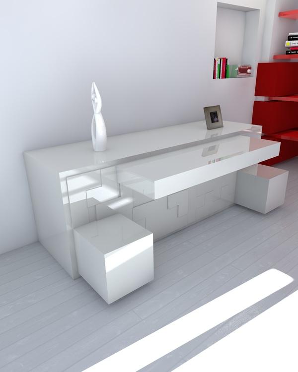 ... Meuble Tetris Un Meuble Modulable Au Design De Tétris on Pinterest
