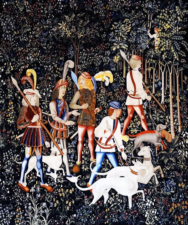 Die Jagd des Einhorns: Die Jagd beginnt