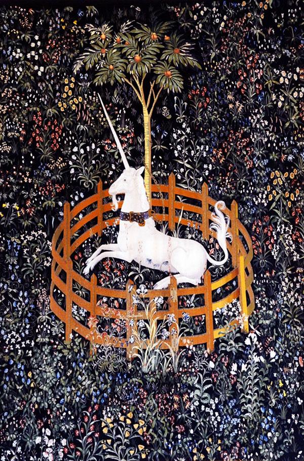 Die Jagd des Einhorns - Das Einhorn in Gefangenschaft