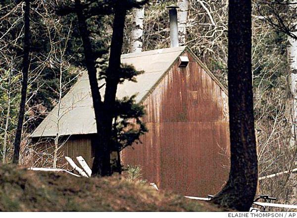 Die Hütte von UNA-Bomber Theodore