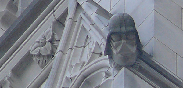 Darth Vader an der Washington National Cathedral