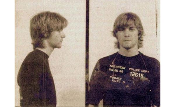 Kurt Cobain Polizeifotos