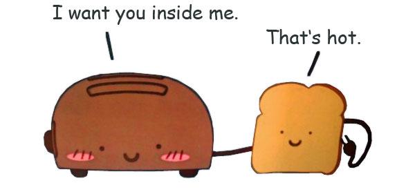 Toaster zum Toast