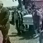 clown beerdigung