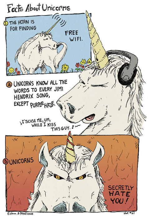 facts about unicorns