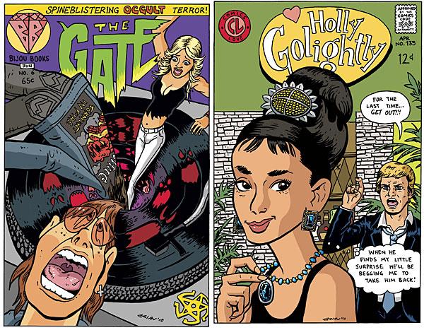 comic cover filme