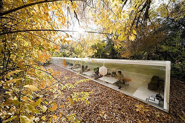 selgas cano - Das Büro im Wald
