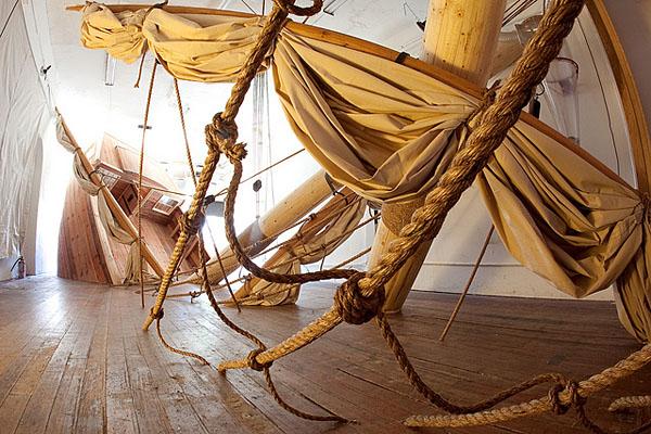 Schiffbruch in der Galerie John Beckmans Sea Nymph