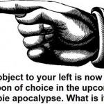 zombie waffe