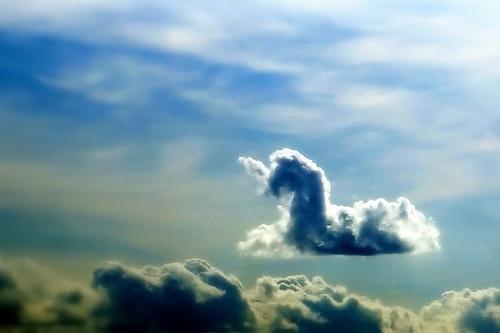 Einhorn Wolke