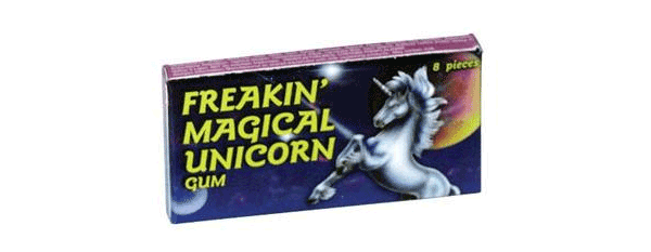 Freakin Magical Unicorn Gum