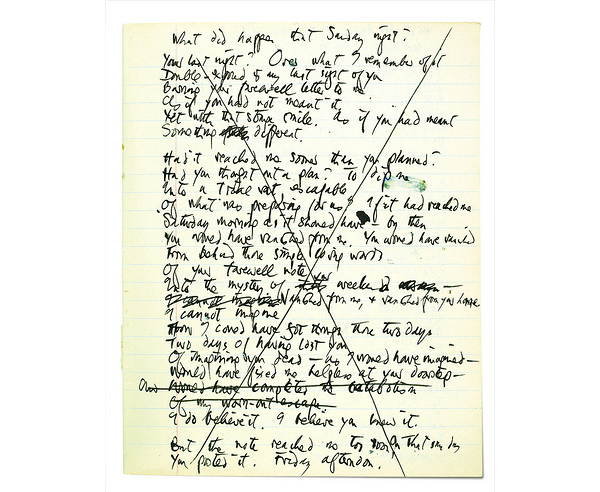Last Letter by Ted Hughes