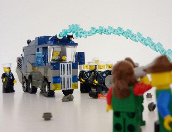 Lego Wasserwerfer