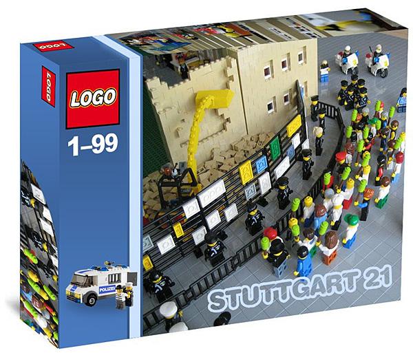 Stuttgart 21 Legoset