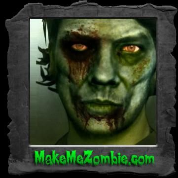 Daniel Decker als Zombie