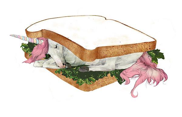 Einhorn Sandwich