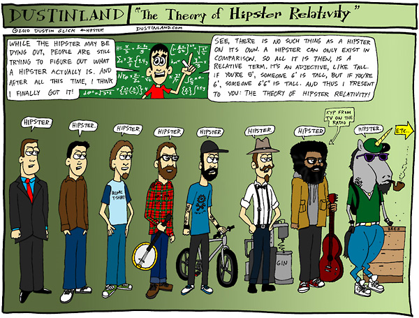 The Theory of Hipster Relativity by Dustinland