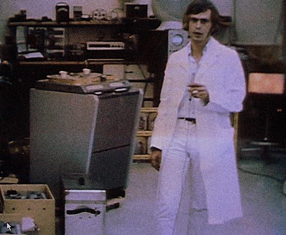 Alex Mardas bei Apple Electronics