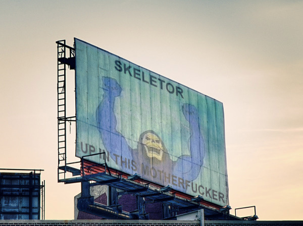 Skeletor Billboard
