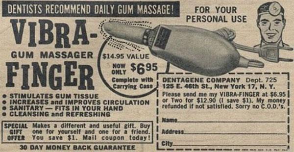 Vibra Finger fürs Zahnfleisch