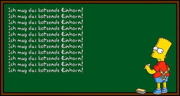 Bart Simpson Tafel Generator