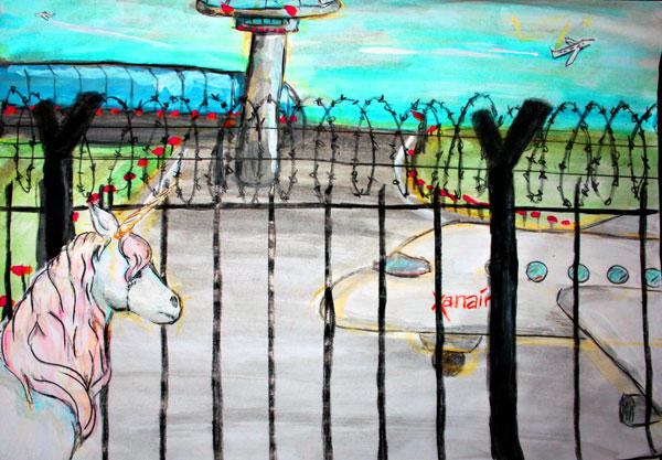 Eine Einhorn-Kurzgeschichte: Das Einhorn und das Niemalsstill