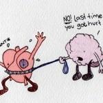 Herz vs Gehirn