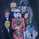 Star Wars Familienportrait