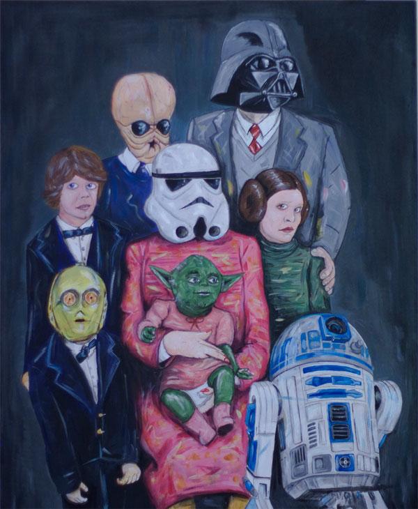 Star Wars Familienportrait