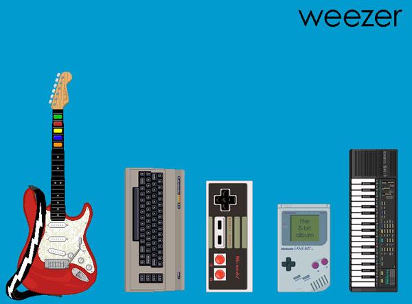 weezer 8-Bit Tribute