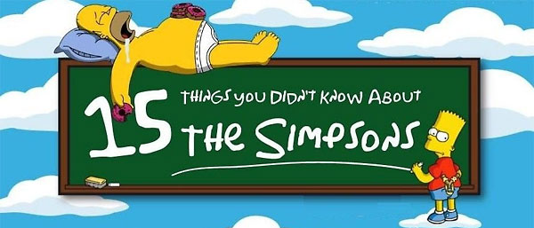 15 Things You Didn't Know About The Simpsons