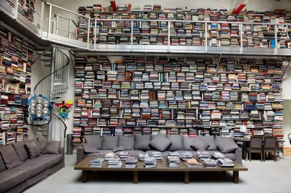 Karl Lagerfeld Bibliothek