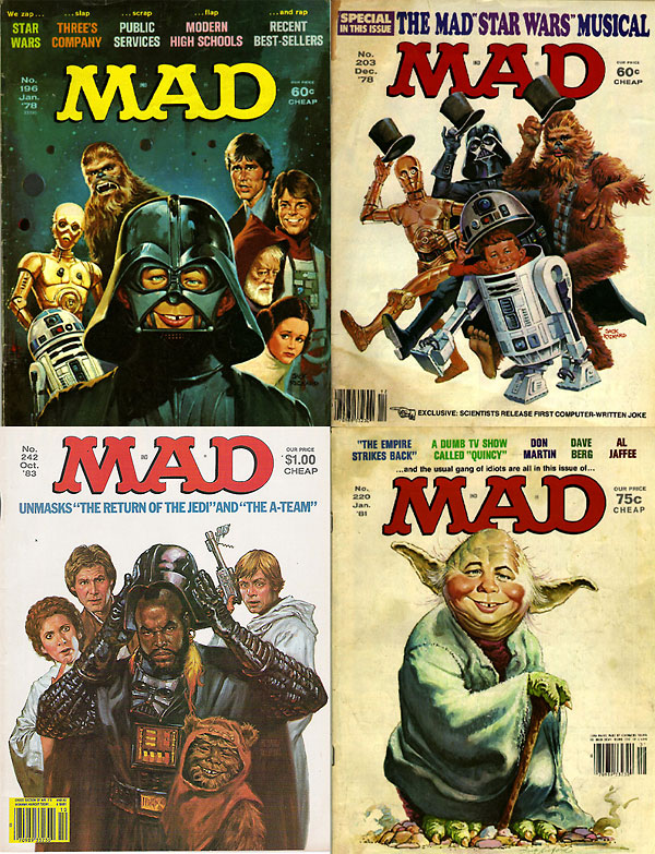 MAD Star Wars Cover