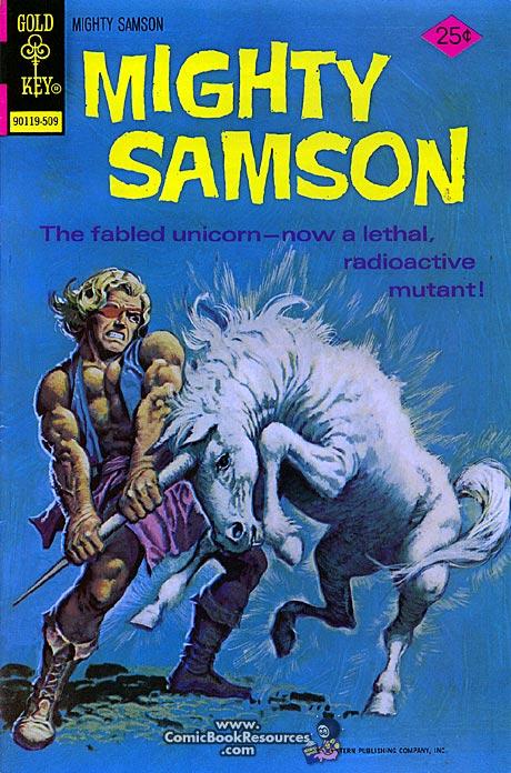 Mighty Samson Mutant Unicorn