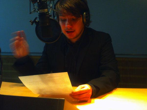 Daniel Decker beim WDR