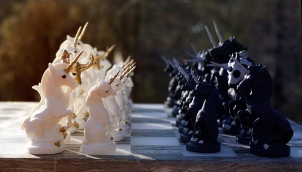 Einhorn Schach