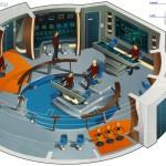 USS Enterpise NCC 1701 Brücke
