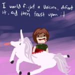 Fight A Unicorn