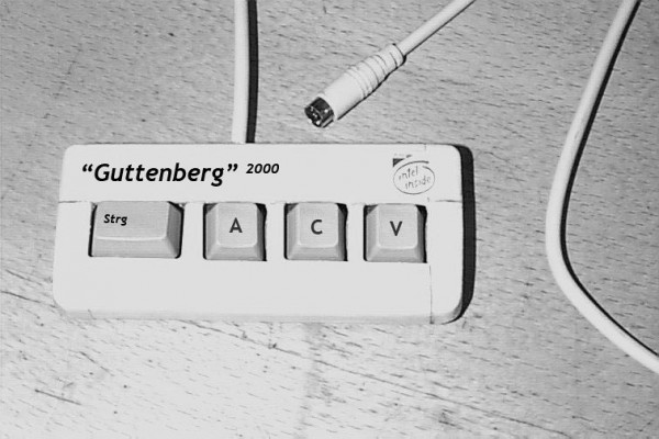 Keyboard für Guttenberg Version 2.0