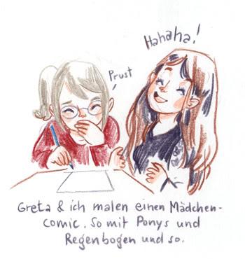 Mädchencomic