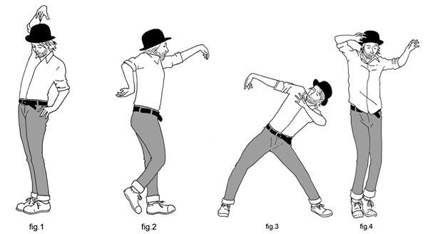 Thom Yorke tanzt