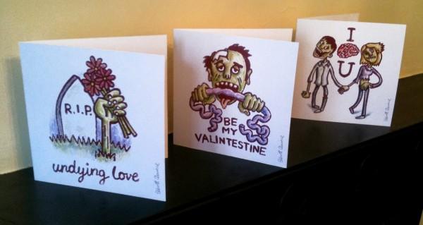 Zombie Valentinskarten