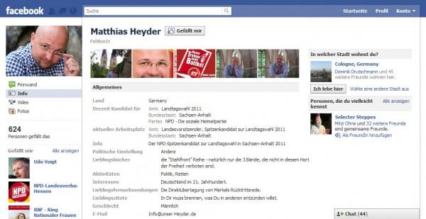 Matthias Heyder NPD