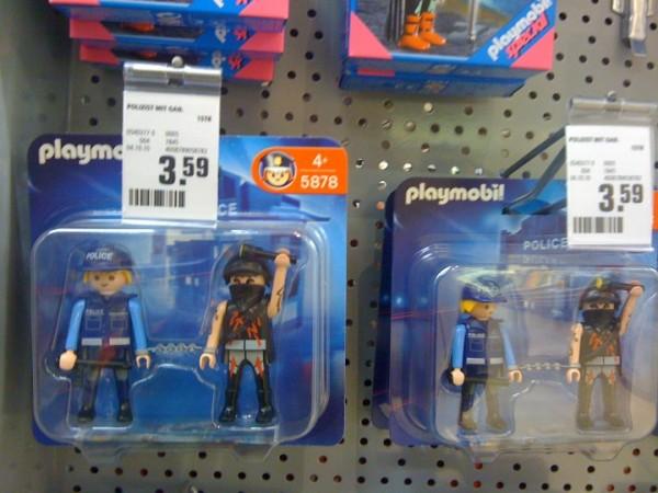 Playmobil Polizist + Autonomer