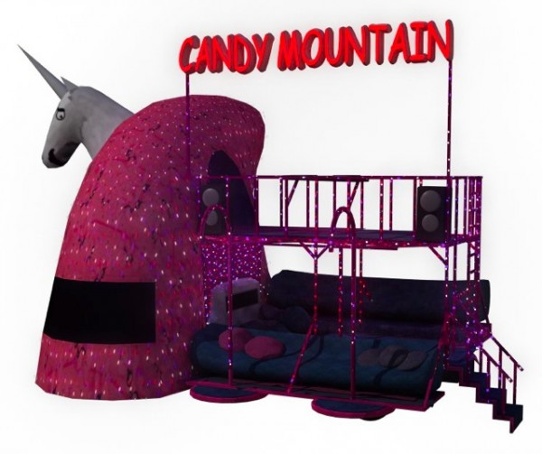 Charlie the Unicorn Paradewagen