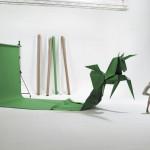 Greenscreen-Einhorn