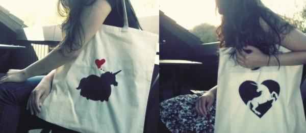 Petunias & Whale Einhorntaschen