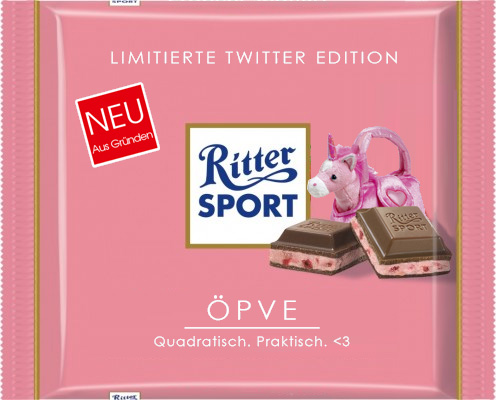 Ritter Sport Öpve