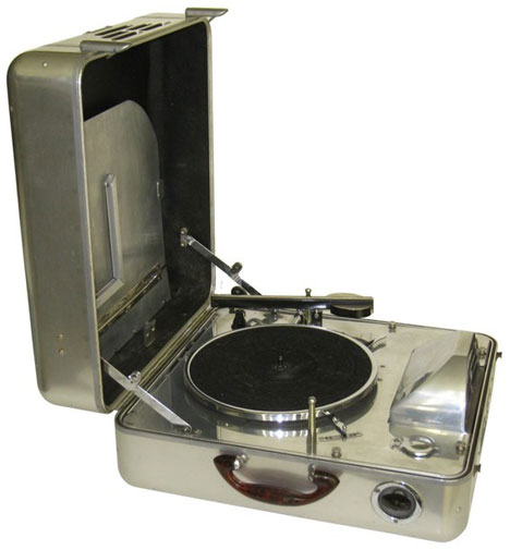 Tragbarer Plattenspieler Special Model K