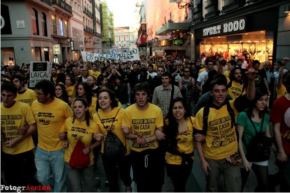 Revolution in Spanien